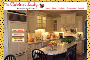 The Cabinet Lady website