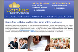 Carolina Estate Counsel Elder Law Raleigh NC