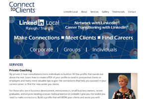 Connect To Clients Linkedin Consulting Raleigh NC