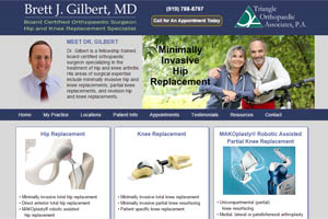Brett Gilbert MD Orthopaedic Surgeon Raleigh and Durham NC