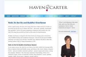 Haven E. Carter website