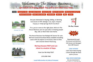 The House Business website
