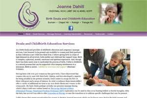 Joanne Dahill website