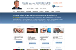 Marshall Kuremsky MD Raleigh NC