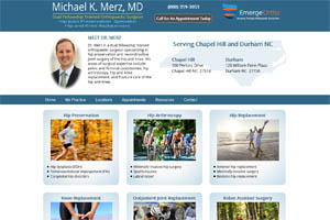 Micheal Merz MD Orthopaedic Surgeon Chapel Hill and Durham NC