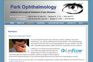 Park Ophthalmology Raleigh Durham NC