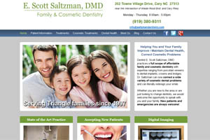 E Scott Saltzman DMD website