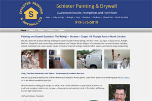 Schleter Painting Apex Holly Springs Cary