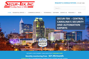 Secur-Tek website