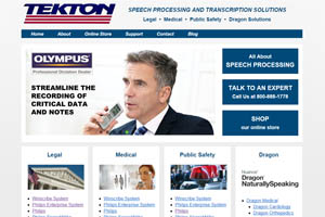 Tekton Speech Processing and Transcription Solutions